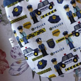 Bolsa porta mascarillas police