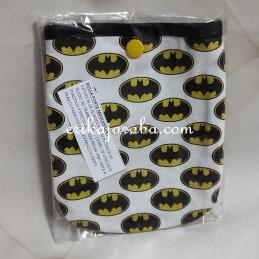 Bolsa porta mascarillas Batman logo
