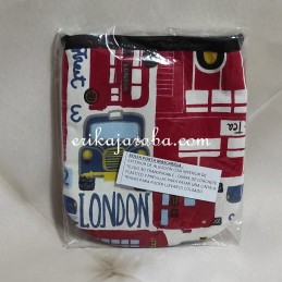 Bolsa porta mascarillas Bus london
