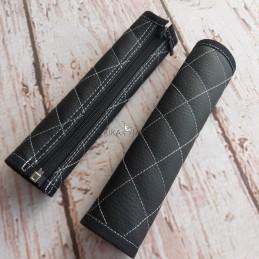 Manillar Bugaboo FOX Textura especial negro con rombos blanco