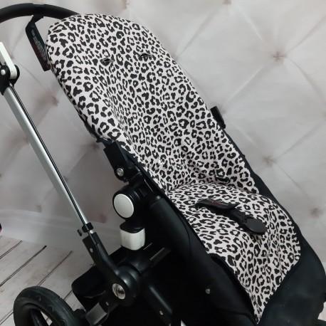 Funda silla con tejido de punto animal print, para camaleon 2